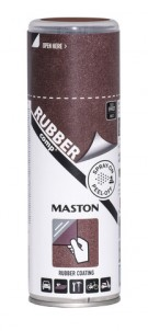 Kumimaalispray RUBBERcomp Rust effect matta 400ml