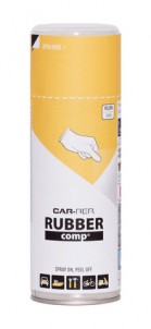 Spray RUBBERcomp Car-Rep Yellow semigloss 400ml