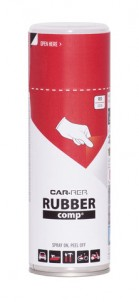 Spray RUBBERcomp Car-Rep Red semigloss 400ml