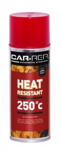 Spraypaint Car-Rep Heatresistant Red 250C 400ml