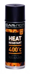 Spraypaint Car-Rep Heatresistant Black 400C 400ml
