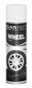 Spraypaint Car-Rep Wheel White Acryl 500ml