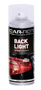 Spraypaint Car-Rep Backlight Red 400ml