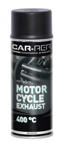 Spraypaint Car-Rep Motorcycle Exhaust Black matt 400ml heat res.400C