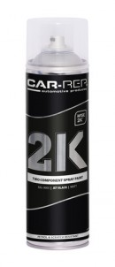 Spraypaint Car-Rep 2K Jet Black matt RAL9005 500ml